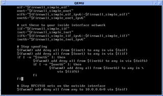 Shell script Script written for the shell, or command line interpreter, of an operating system