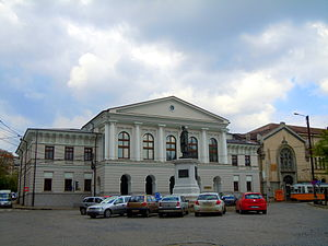 "Iași ""Moldova"" Philharmonic Orchestra - Alecu Balş House (1815), where Franz Liszt performed in 1847"