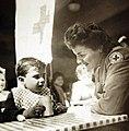 French children at Red Cross day nursery in Algiers, Algeria (27325810360).jpg