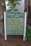 Frostbitten Convention historical marker Ann Arbor Michigan.JPG