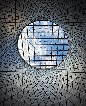 Fulton Center skylight in Manhattan