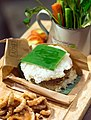 Fusion sticky rice and northern Thai pork curry burger.jpg