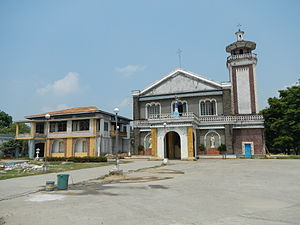 Our Lady of the Pillar Church (San Simon) - Image: Fvf San Simon Church 9509 05