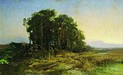 Fyodor Vasilyev Pine grove in the swamp 11012.jpg