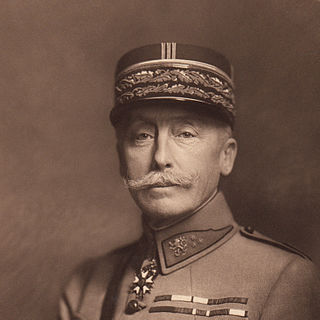 Maurice Pellé French and Czechoslovakian general