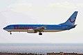 G-CDZL B737-804 Thomsonfly LPA 20JAN10 (6354082785).jpg
