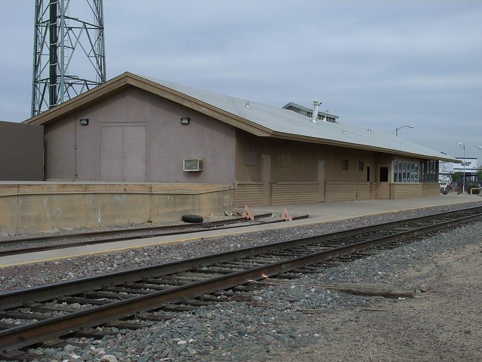 G-Glendale Santa Fe Railroad Depot-1895