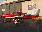 G-KOKO Cirrus SR22T (Private Owner) (46336837395).jpg