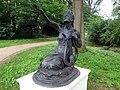 GOC Letchworth 020 Statue of Sappho, Howard Park and Gardens (39331062180).jpg
