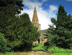 St. Helen's Church, Gumley