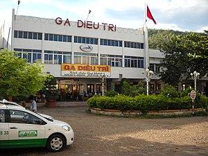 Diêu Trì railway station - Image: Ga Diêu Trì, Tuy Phước, Bình Định