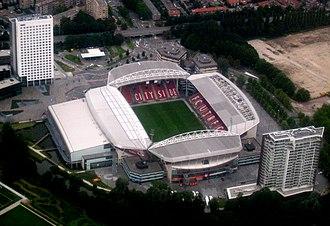 Stadion Galgenwaard - Aerial view of Stadion Galgenwaard
