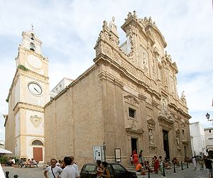 Gallipoli, Apulia - The Cathedral.