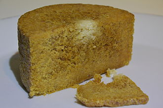 Gamalost - Image: Gamalost Norwegian Old Cheese