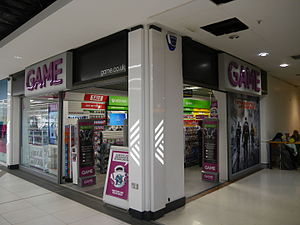 Game (retailer) - Game, Kings Mall, Hammersmith, London (2016)