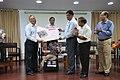 Ganga Singh Rautela Receives Retirement Gift From Arijit Dutta Choudhury - NCSM - Kolkata 2016-02-29 1694.JPG