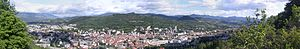 Gap, Hautes-Alpes - A panoramic view of Gap