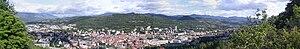 Gap, Hautes-Alpes - A panoramic view of Gap