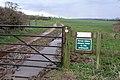 Gate and track - geograph.org.uk - 738078.jpg