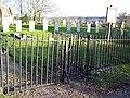 Gates and Graves at St Editha, Baverstock - geograph.org.uk - 329732.jpg