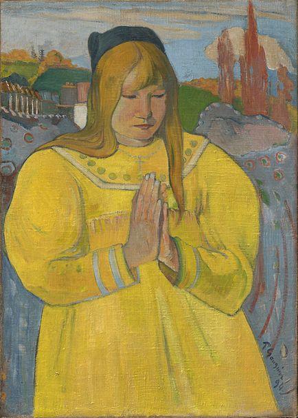 File:Gauguin - Betende Bretonin - 1894.jpg