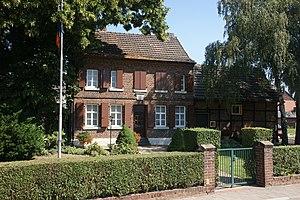 Das sogenannte Geburtshaus von Adolph Kolping in Kerpen, Kolpingstraße