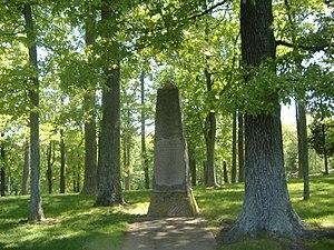 Felix Zollicoffer - Site of Zollicoffer's death at Mill Springs Battlefield, Nancy, Kentucky.