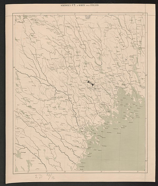 600px general map of the grand duchy of finland 1863 sheet c2