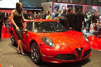 Alfa Romeo 4C - Alfa Romeo 4C Launch Edition (European model)