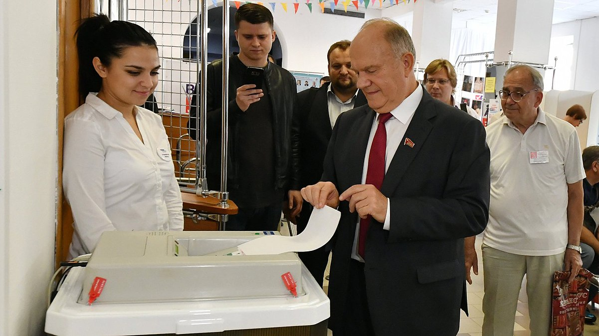 Gennady Zyuganov vote in the Moscow mayoral election (2018-09-09) 02.jpg