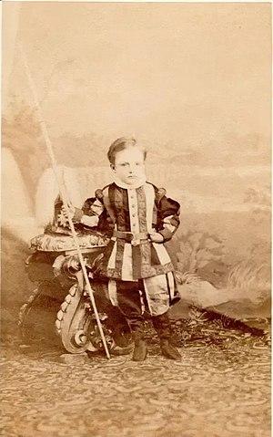 Prince Januarius, Count of Caltagirone - Image: Gennaro di Borbone Due Sicilie, Conte di Caltagirone