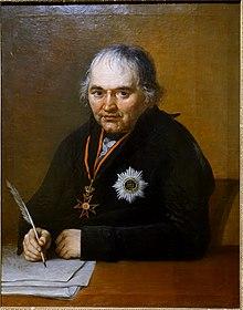 Georg Joseph Vogler      (Ölgemälde von Joseph Hauber, 1808) (Quelle: Wikimedia)
