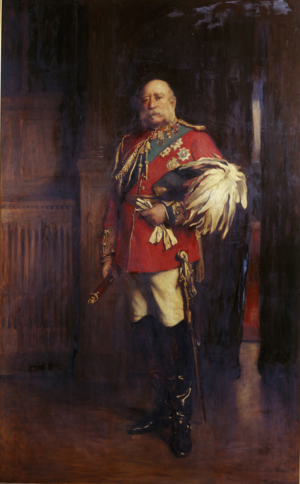 77th (East Middlesex) Regiment of Foot - Prince George, Duke of Cambridge  after whom the regiment was named