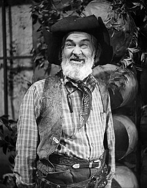 The Gabby Hayes Show - Hayes in 1953.