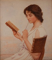 George Lawrence Bulleid, 1911 - The Love Letter.jpg