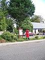 George V Postbox, Codford St Peter - geograph.org.uk - 951838.jpg