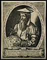 Gerard Mercator (Cremer). Line engraving by H. Goltzius, 157 Wellcome V0003977.jpg
