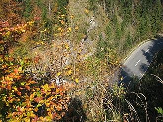 Reit im Winkl - German Alps Road (B 305), near Reit im Winkl, Germany