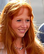 German Woman Portrait - Dutch summer festival of the Redhead Day in Breda, September 2010.jpg