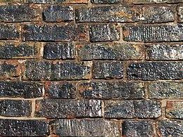 Germany Luebeck townhall bricks (detail)