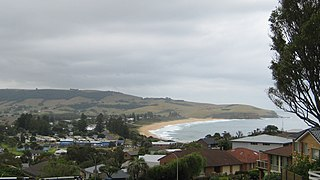 Werri Beach Town in New South Wales, Australia