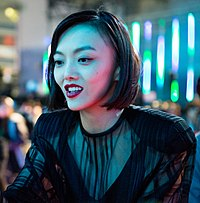 Ghost In The Shell World Premiere Red Carpet- Rila Fukushima (37404702191) (cropped).jpg