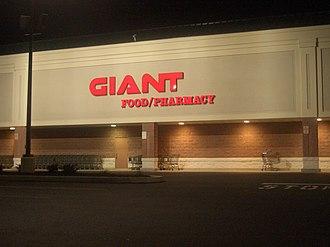 Giant Food Stores (Carlisle) - A Giant-Carlisle supermarket in Shillington, Pennsylvania.