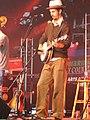 Gill Landry Old Crow Medicine Show Cambridge Folk Festival Cambridge ENGLAND July 2005.jpg
