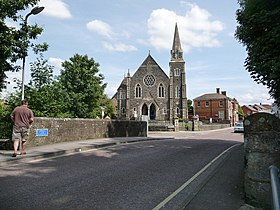 Gillingham, Town Bridge and the Methodist church - geograph.org.uk - 1434133.jpg