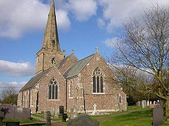 Gilmorton - Image: Gilmorton All Saints Church geograph.org.uk 146474