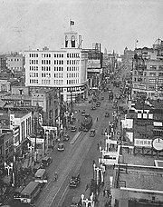 Ginza in 1933