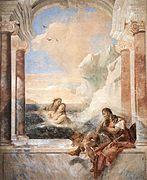 Giovanni Battista Tiepolo - Thetis Consoling Achilles - WGA22339