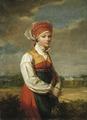 Girl from Vingåker (Johan Gustaf Sandberg) - Nationalmuseum - 18023.tif