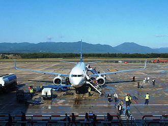 Girona–Costa Brava Airport - Apron view
